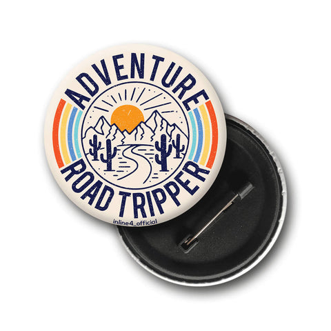Adventure Road Tripper | Badge - Inline-4