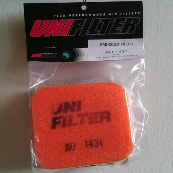 Uni Filter Air Filter for KTM Duke/RC 200/390 2013-16