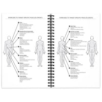 Workout Log Book and Fitness Journal 2-pack 5.5 x 8.5""