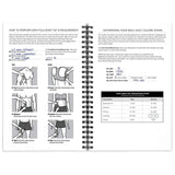 Fitness and Nutrition Tracking Journals 1 of Each 5.5 x 8.5""