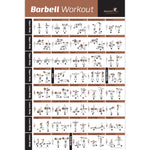 "Barbell Exercise Poster - Laminated - 20""x30"""