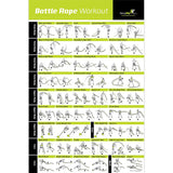 "Battle Rope Exercise Poster - Laminated - 20""x 30"""