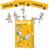 "Bodyweight Vol 2 Exercise Cards - Plastic - 3.5""x 5.5"""