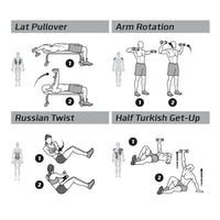 "Dumbbell Exercise Poster - Laminated - 20""x30"""