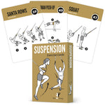 "TRX Suspension Exercise Cards - Plastic - 3.5""x5.5"""