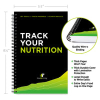 Nutrition/Food Tracking Journal 5.5 x 8.5""
