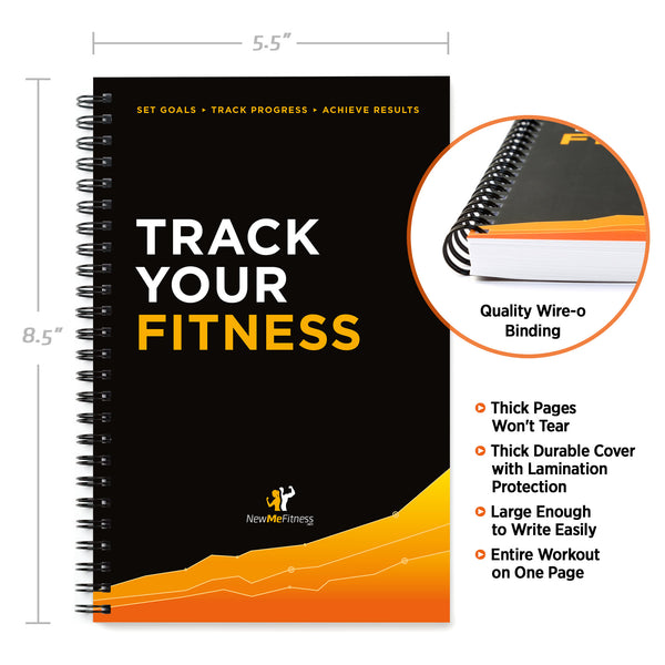 Workout Log Book and Fitness Journal 5 5 x 8 5