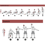 "Kettlebell Exercise Poster - Laminated - 20""x30"""