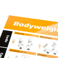 "Bodyweight Exercise Poster - Laminated - 20""x30"""