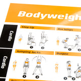 "Bodyweight Exercise Poster Vol. 2 - Laminated - 20""x30"""