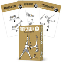 "TRX Suspension Exercise Cards - Plastic - 3.5""x 5.5"""