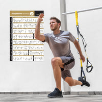 "TRX Suspension Exercise Poster Vol. 2 - Laminated - 20""x30"""