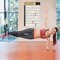 TRX Suspension Exercise Poster Vol. 2 - Laminated