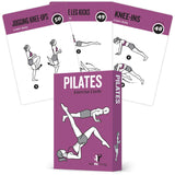 "Pilates Exercise Cards - Plastic - 3.5""x 5.5"""