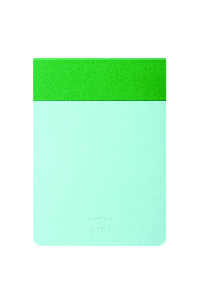 HiBi Memo Pad 12x8.5x0.8 cm Green - Stuff & All Ltd