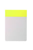 HiBi Memo Pad 12x8.5x0.8 cm Yellow - Stuff & All Ltd