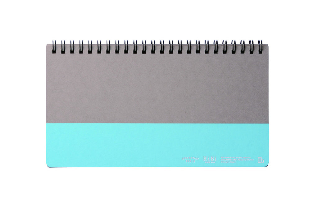 HiBi Weekly Notebook A5 11.8x21x1 cm Blue - Stuff & All Ltd