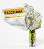 Barcelona Waterproof Light Super Resistant Crumpled City Map - Stuff & All Ltd