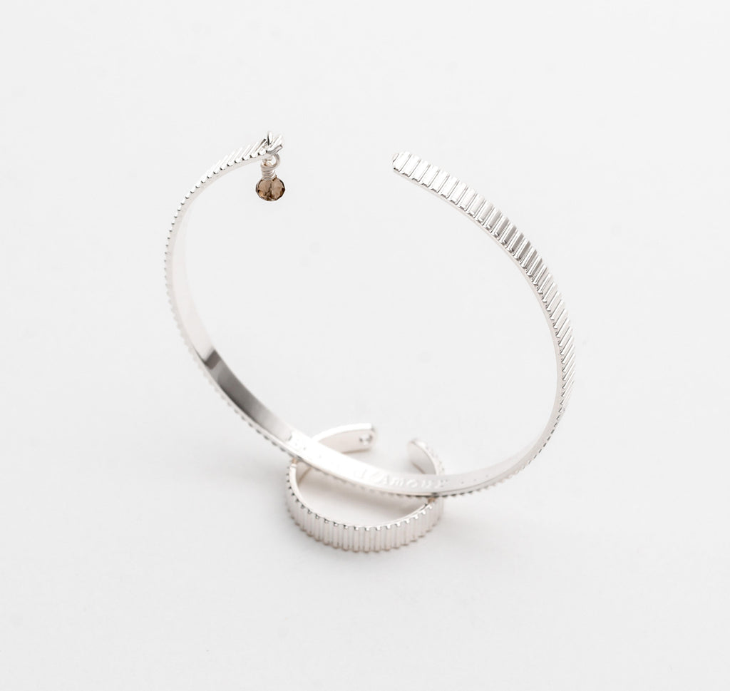 Brin d'Amour Minimal Bracelet - Sterling Silver 925 - Stuff & All Ltd