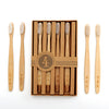 Men's Society Set of Four Bamboo Toothbrushes - Stuff & All Ltd