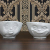 Tassen 'Grinning' white porcelain bowl, 500ml - Stuff & All Ltd