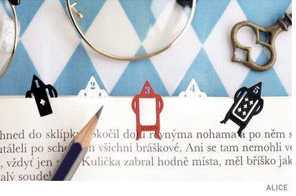 Iconic Bookmarks Alice - Stuff & All Ltd