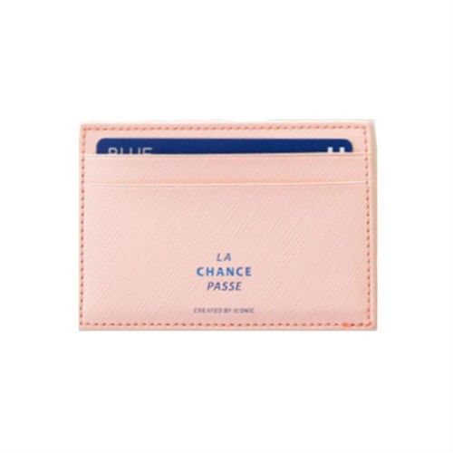 Iconic Flat Card Pocket Pink - Stuff & All Ltd