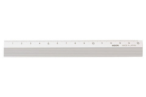 Midori Aluminium Ruler - Stuff & All Ltd