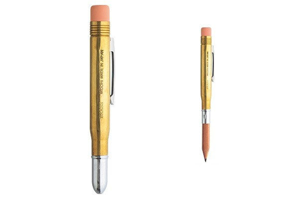 Midori Brass Pencil - Stuff & All Ltd