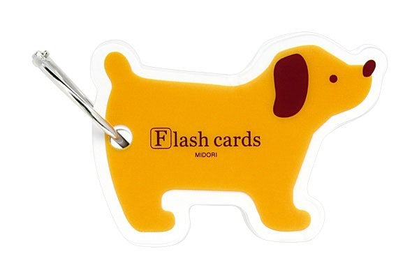 Midori Flash Cards Dog - Stuff & All Ltd