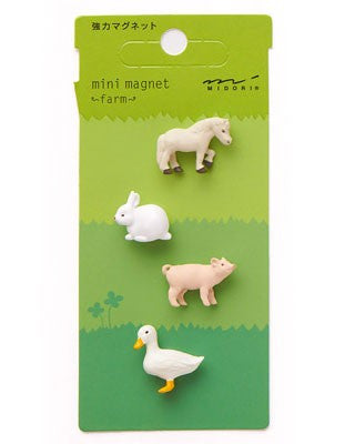Midori Mini Magnet Farm - Stuff & All Ltd
