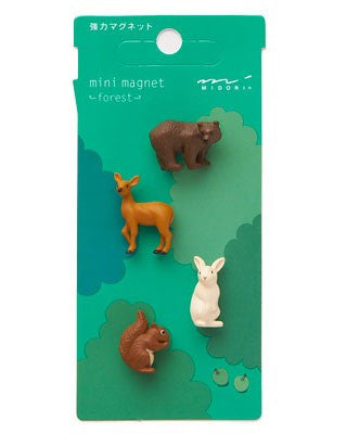 Midori Mini Magnet Forest - Stuff & All Ltd