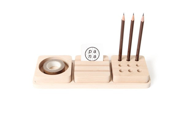 Pana Objects Stationery Set Maple Wood - Stuff & All Ltd