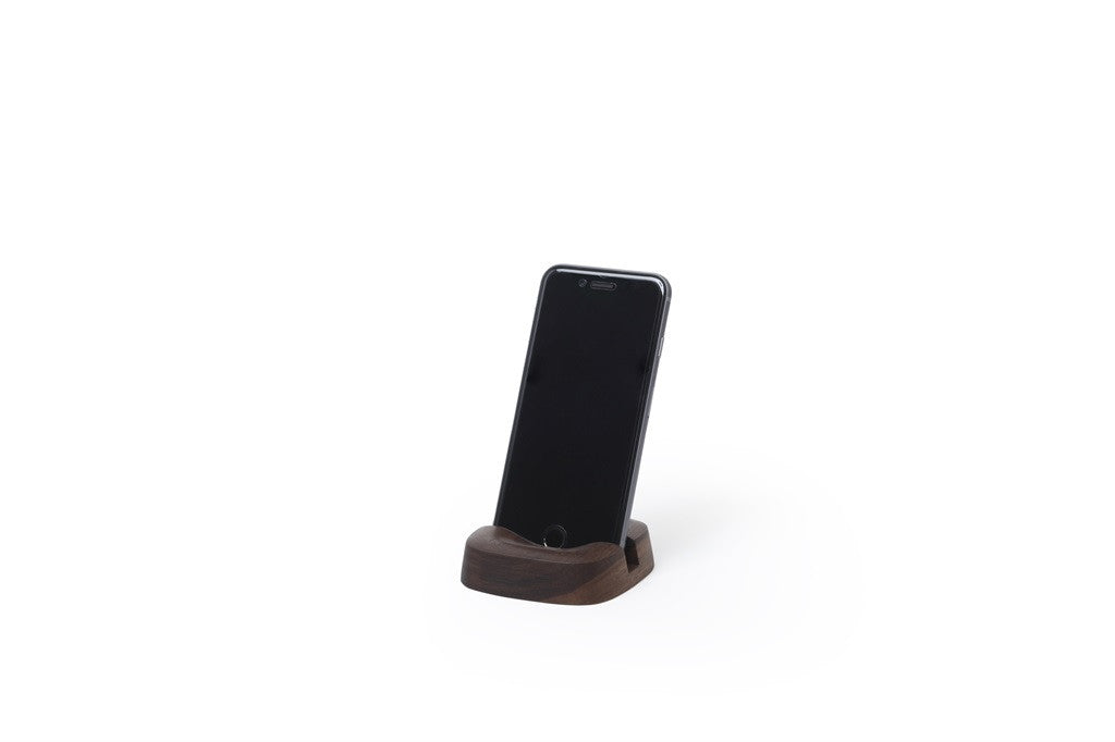 Pana Objects Smart Phone Stand Walnut - Stuff & All Ltd