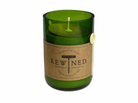 Rewined Signature Wine Bottle Candle - Champagne - 80 Hour Burn Time - Stuff & All Ltd