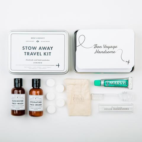 Men's Society Stow Away Travel Kit - Stuff & All Ltd