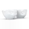 Tassen Set of 2 Bowls 200ml Kissing and Grinning - Stuff & All Ltd