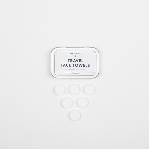 Men's Society Travel Face Towels - Box of 20 - Stuff & All Ltd