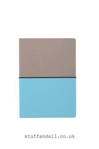 HiBi A5 Notebook H210xW148xD10mm Blue - Stuff & All Ltd