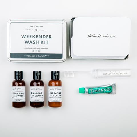 Men's Society Weekender Wash Kit - Stuff & All Ltd