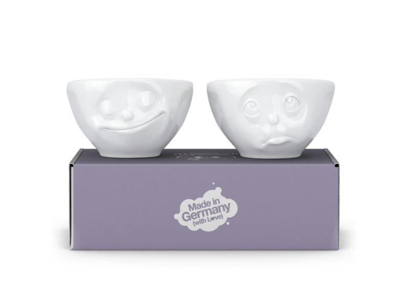 Tassen Set of 2 Bowls 100ml Happy and Oh Please - Stuff & All Ltd