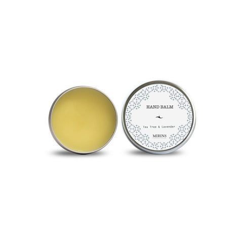 Mirins Hand Balm - Tea Tree and Lavender - Stuff & All Ltd