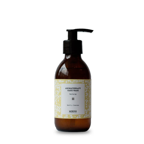 Mirins Hand Wash - Recharge - Lemon, Ginger & Lemongrass, with pump - Stuff & All Ltd