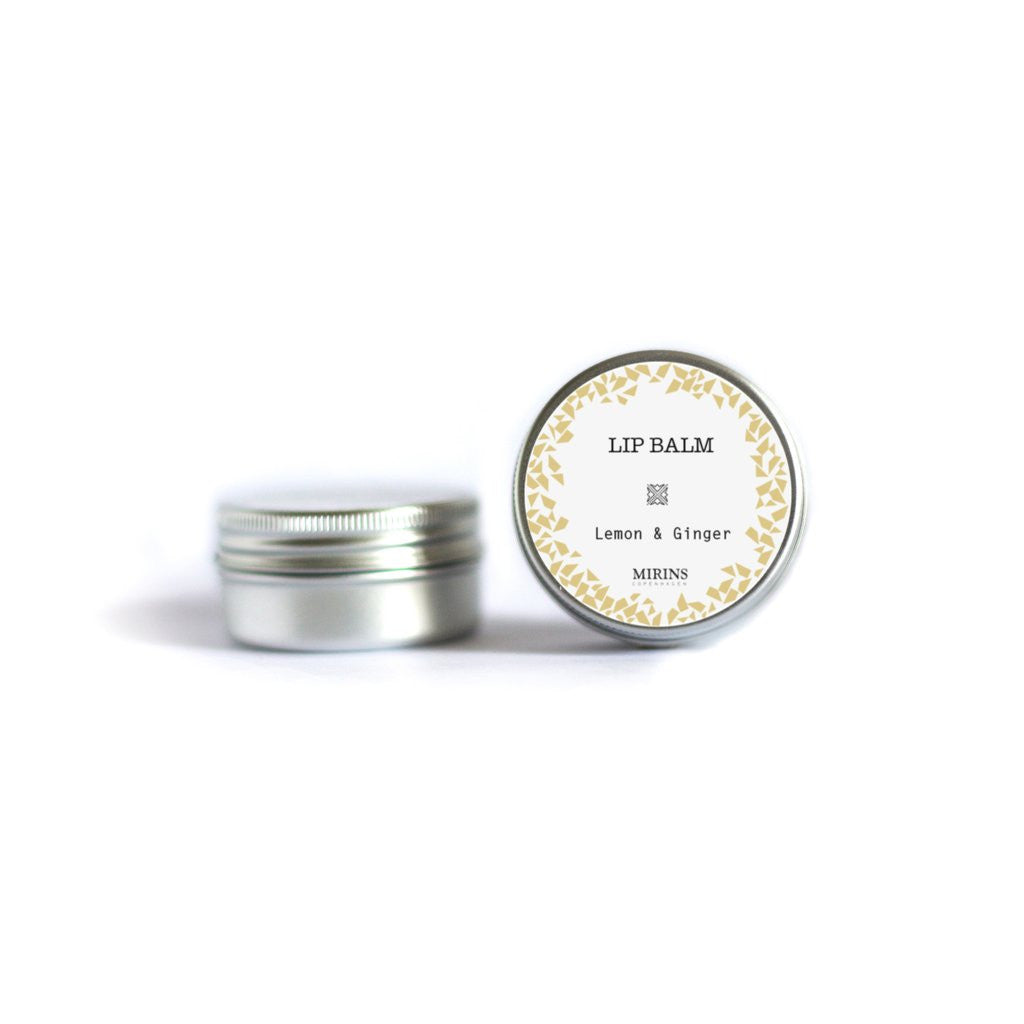 Mirins Lip Balm - Lemon and Ginger - Stuff & All Ltd
