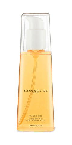 Connock London Kukui Oil Comforting Hand and Body Wash - 200 ml - Stuff & All Ltd