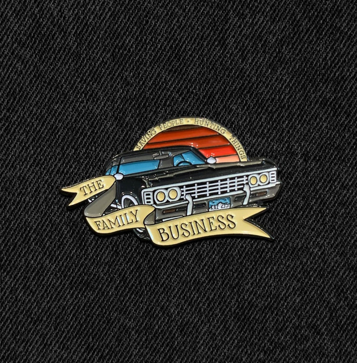 Supernatural Pin