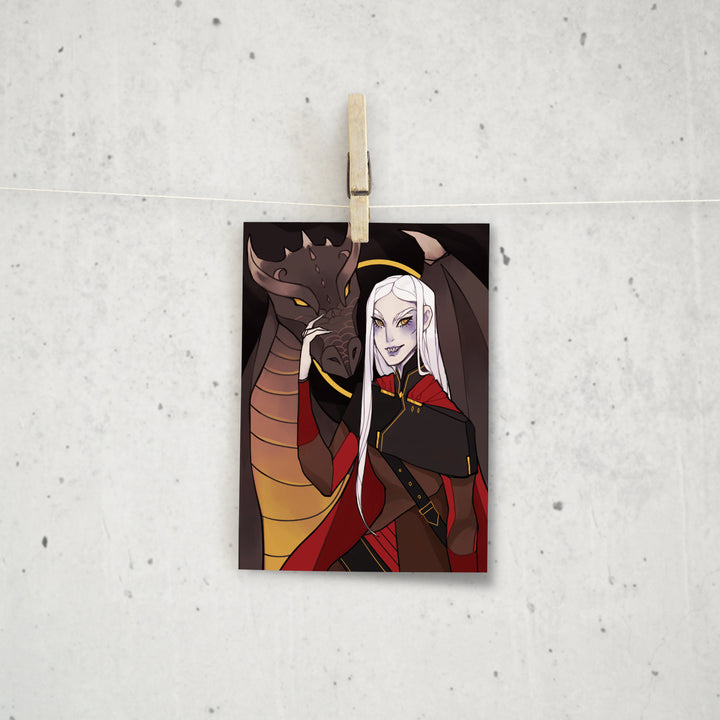Throne of Glass Mini Print