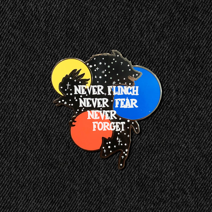 Nevernight Pin