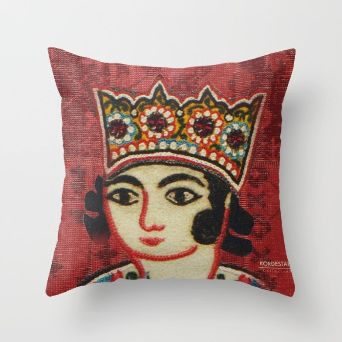 "Persian King 16"" x 16  Persian King Printed Pillow Cover"