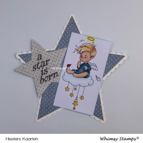 Angel Cody - Digital Stamp - Whimsy Stamps